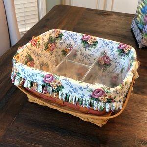 Longaberger Timeless Memory basket.